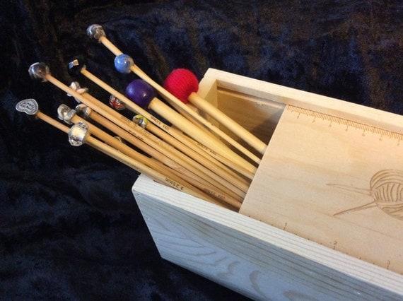Knitting Needle Storage Box : Knitting needle storage boxes and cases from