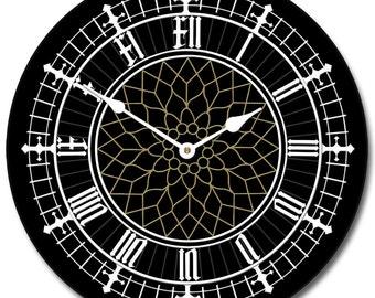 Big Ben Black Wall Clock