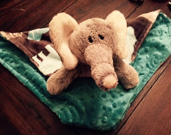 Security Blanket, Lovey, Elliott the Elephant