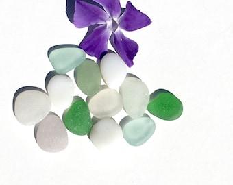 Flawless Genuine Sea Beach Glass, Jewelry Quality, Real, Pendants, Found Objects, Natural, Beach Gypsy, Mermaid Mystic, White Milk Glass