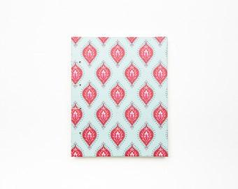 Blank Sketchbook // Journal - Light Blue and Pink