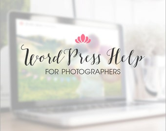 WordPress Help For Photographers