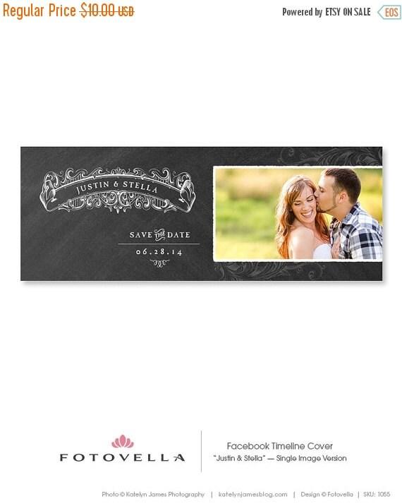 on sale facebook template save the date timeline by fotovella. Black Bedroom Furniture Sets. Home Design Ideas