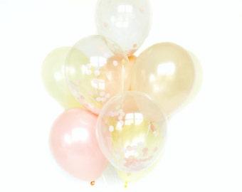 Confetti Balloon Set - Peachy Keen