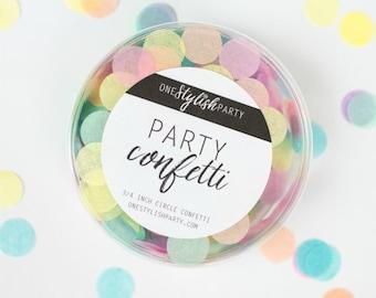 Party Confetti - Unicorn Rainbow