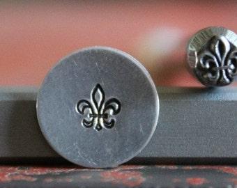 Fleur De Lis Metal Stamp Perfect for Metal Stamping and Metal Design Work  SGA-4