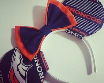 Denver Broncos Mouse Ears