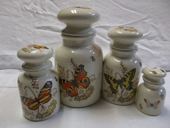 sale was 25 00 vintage ceramic kitchen canisters with
