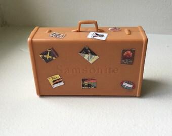 Samsonite Plastic Suitcase.  (BP)
