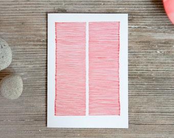 "Card ""somewhat angular"""