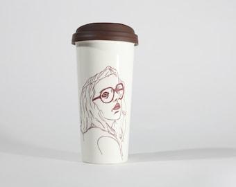 Geek Chic - Venti Sized Ceramic Travel Mug