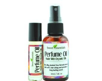 Tunisian Jasmine | Fragrance / Dry Perfume Oil | Made w/ Organic Oils - Free Shipping