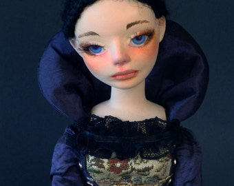 """Art doll OOAK Jointed doll """"Cecilia"""""""
