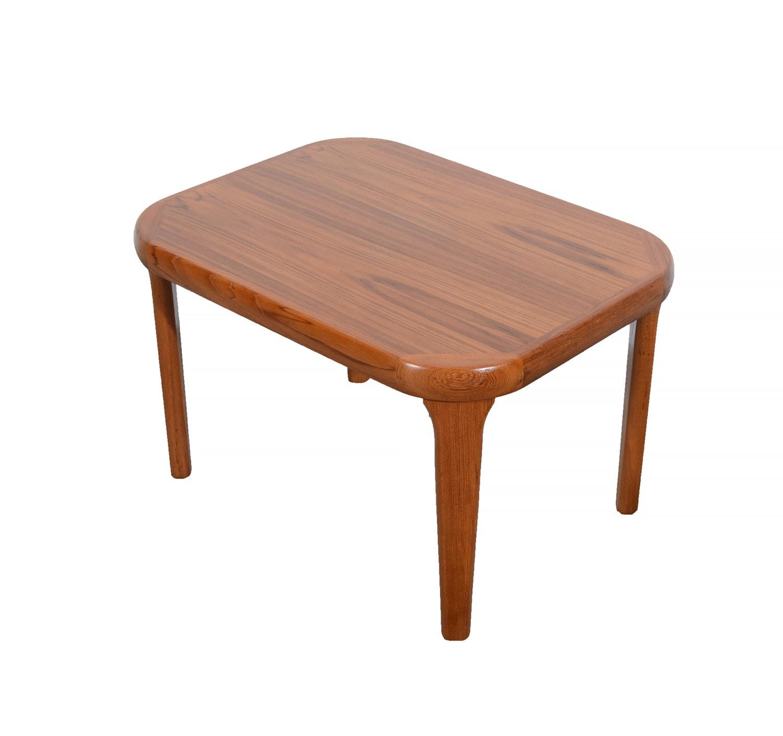 Teak Coffee Table And End Tables: Teak Side Table Coffee Table Danish Modern Gangso