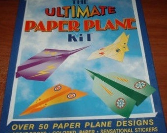 The Ultimate Paper Plane Kit
