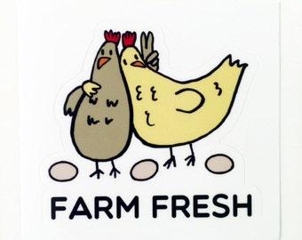 Egg carton labels etsy farm sticker chicken sticker peace sticker pronofoot35fo Image collections