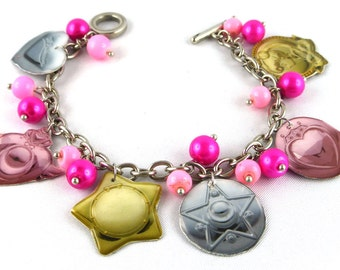 Bracelet, Bangle, Resin, Sailor Moon