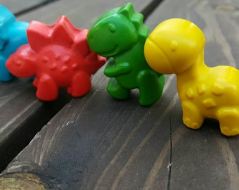 Dinosaur crayons set of 50 - party supplies - party favors - Dinosaur Party