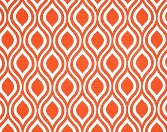 Nicole Slub Tangelo Home Dec Fabric - One Yard - Premier Prints Fabric