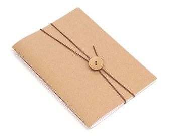 """Handmade journal notebook sketchbook Simply Craft A5 """"Knob"""""""