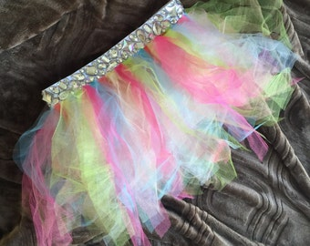 Rainbow Gemstone Dream Tutu