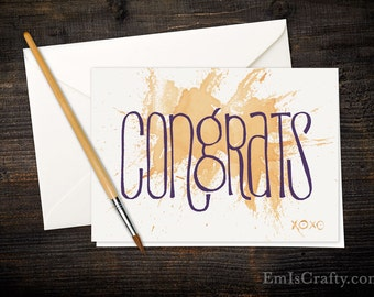 BreastCardEver: Congrats! Graduation or Commencement Greeting Cards. Bulk, lot, includes envelopes