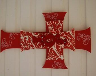 Christmas JOY Layered Cross, Make Christ the center of your Christmas, Christmas Decor(B50)