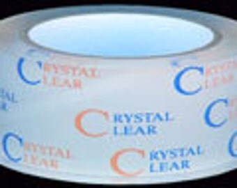 "Crystal Clear Coat Protection Tape 55yd Roll 3/4"" Width"
