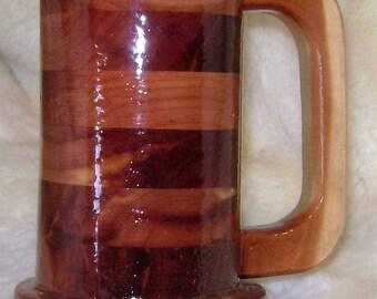 Small 12 ounce Tankard Mug Cedar