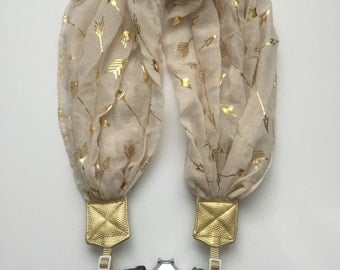 Cupids Arrow Scarf Camera strap