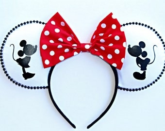 Mickey and Minnie Kiss Ears