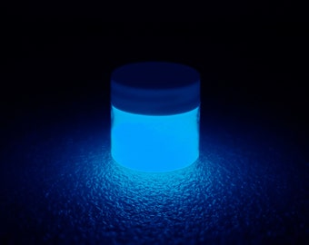 Blue Glow in the Dark Paint - 1 oz