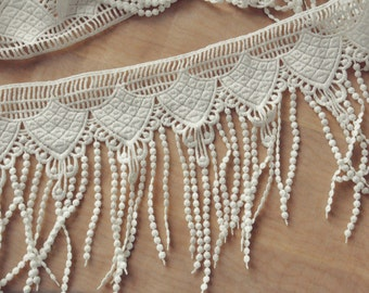 Venice fringe lace trim , 2 yards