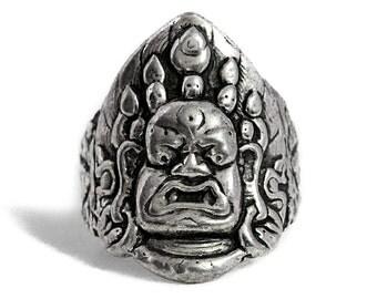 Ring Buddha Silver