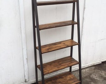 Reclaimed Maple Shelving Unit