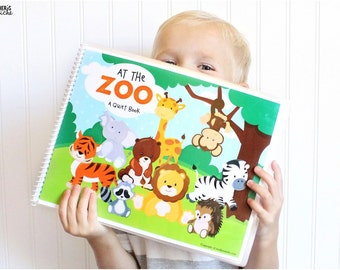 Zoo Animals Printable Quiet Book