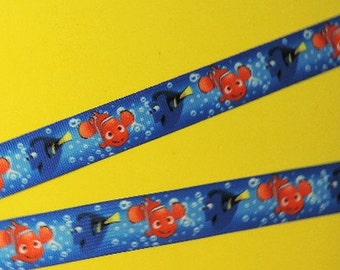 Finding Dory ribbon - 3 yards