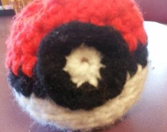Pokemon crocheted balls