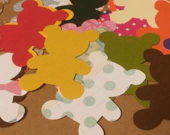 Teddy Bear Die Cuts - qty: 24
