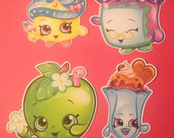 Shopkins Die Cuts Qty 4