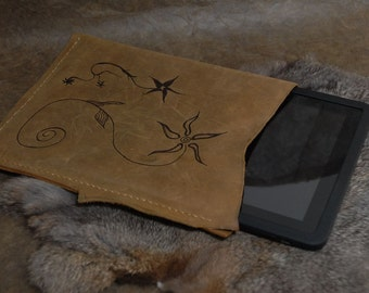 Leather tablet case - tablet and reader case