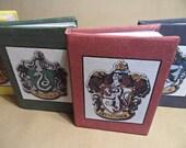 Harry Potter House Crest Mini Notebook - Gryffindor, Slytherin, Hufflepuff, Ravenclaw