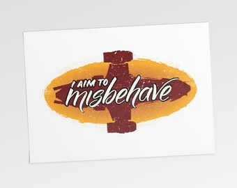 I Aim to Misbehave (Digital Download)