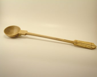 Wooden Hand Carved Spoon