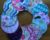 "4 Sets (8 Pads Total) 5"" Drammy Nursing Pads for Nursing Mommies"