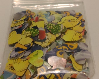 Pokemon Trading Card Heart-Shaped Confetti (Electric Type)