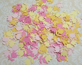 Large Lot of Die Punched Flowers.  #G-49
