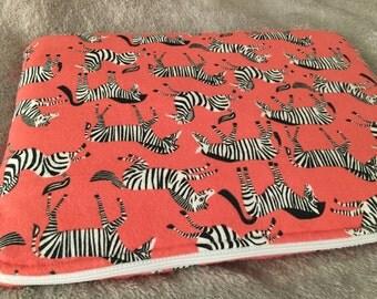 "Zebra Print 13"" Laptop Sleeve"