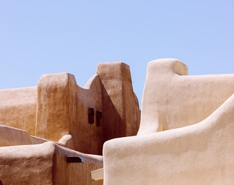 Santa fe photography, abstract photography, new mexico print, western art, large wall art, western u.s., santa fe print, adobe, brown, warm