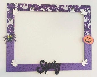 Halloween Photo Booth Prop, Photo Booth Prop, Photo Booth Frame, Halloween Picture, Cute Halloween Party, Picture Frame Prop, Kids Halloween